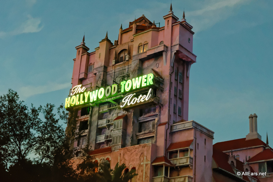 Twilight Zone Tower Of Terror Disney S Hollywood Studios Allears Net
