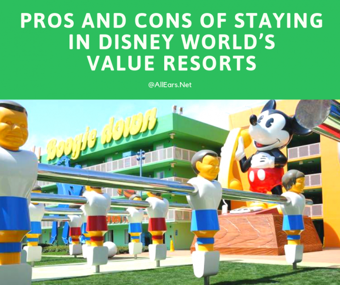 Pros and Cons of Disney World's Value Resorts