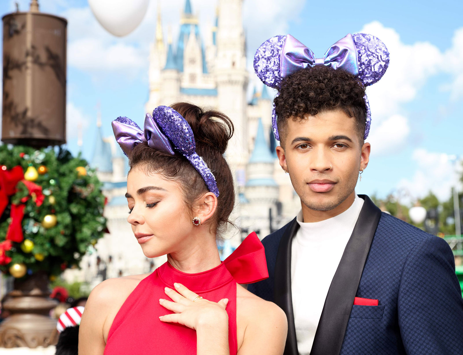 Rebecca Hook, the creator of these incredible pieces, is hosting a trunk show at Uptown Jewelers today (and yesterday) and I am guessing that means these Rose Gold Minnie Mouse Ear Headband .