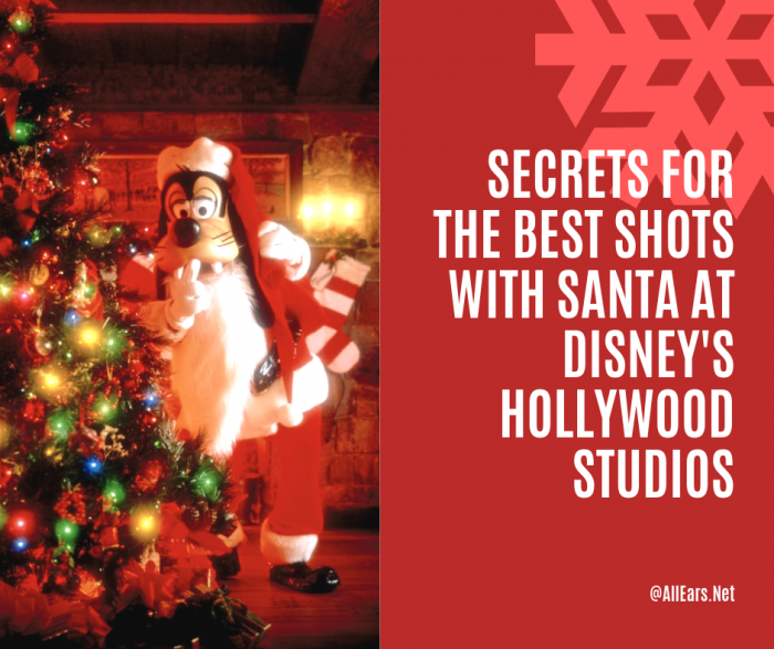 Secrets for the Best Shots with Santa at Hollywood Studios