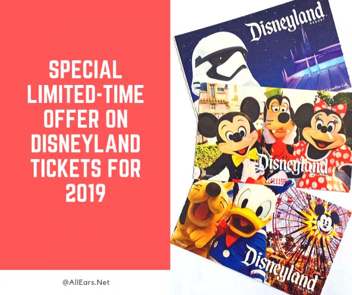 Special Offer on Disneyland Tickets
