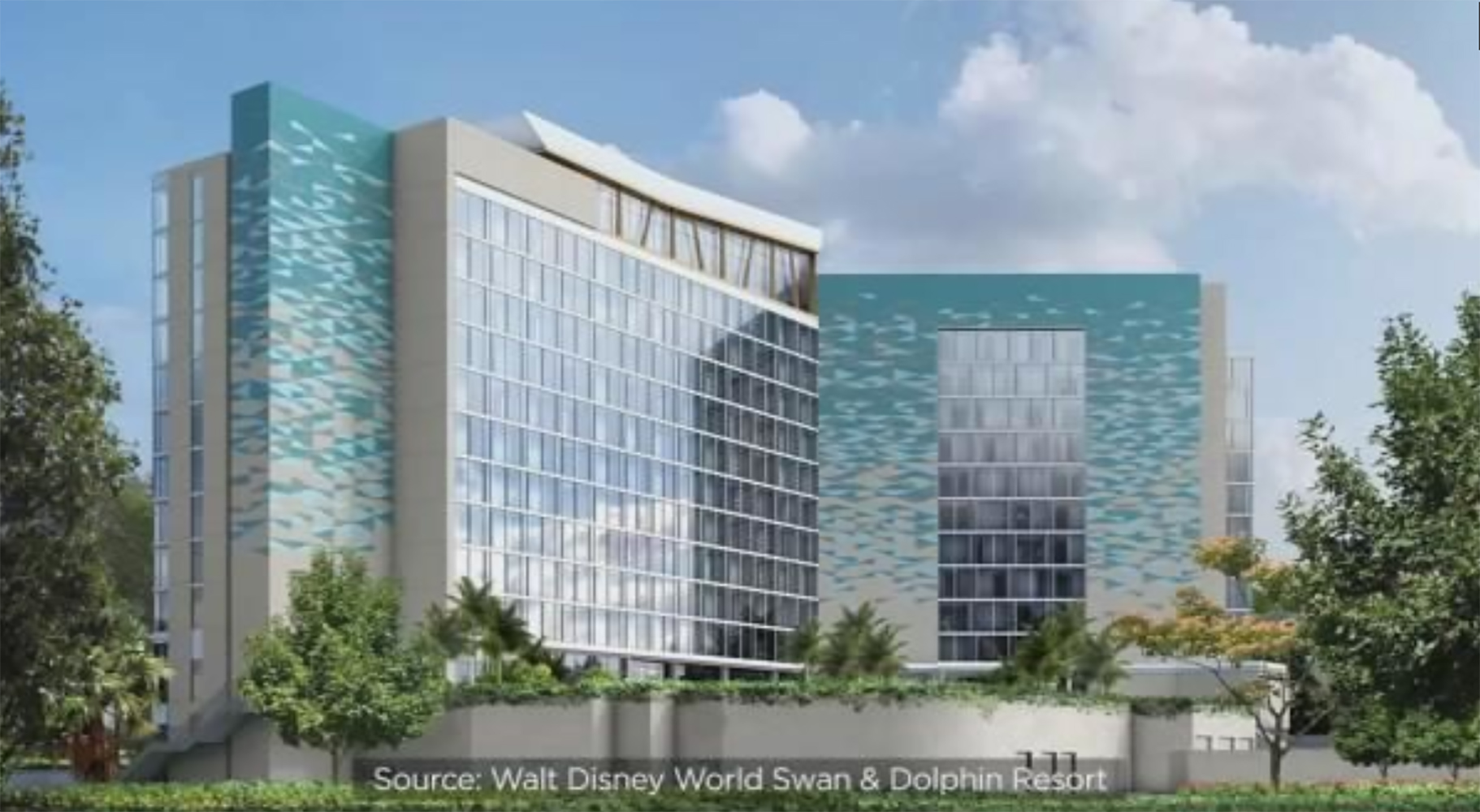 Groundbreaking For New Tower Coming To Disney World S Swan And