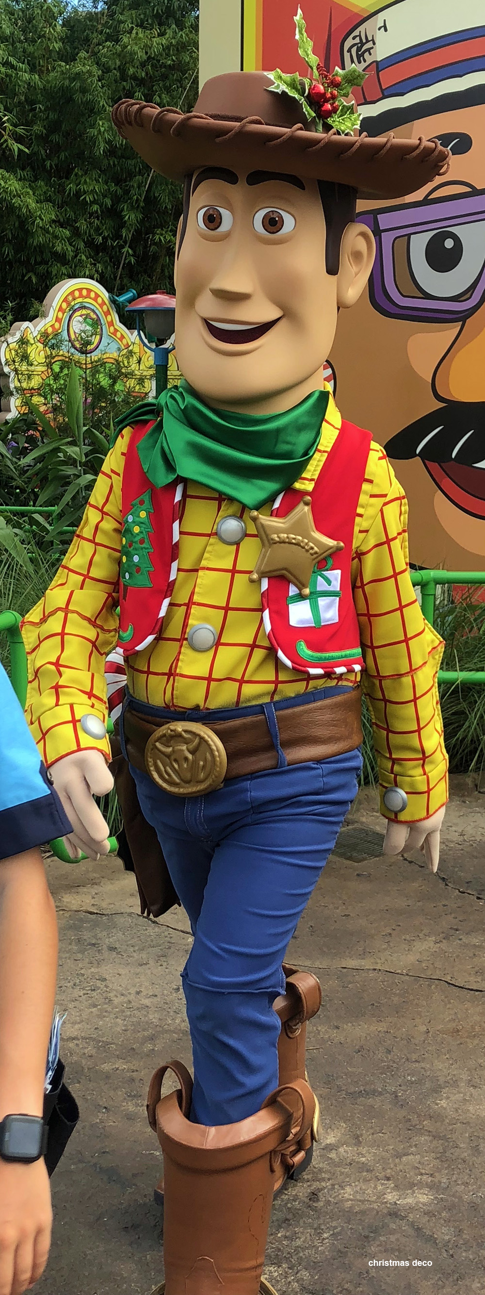 Toy Story Holidays : Toy story land at disney s hollywood studios gets holiday