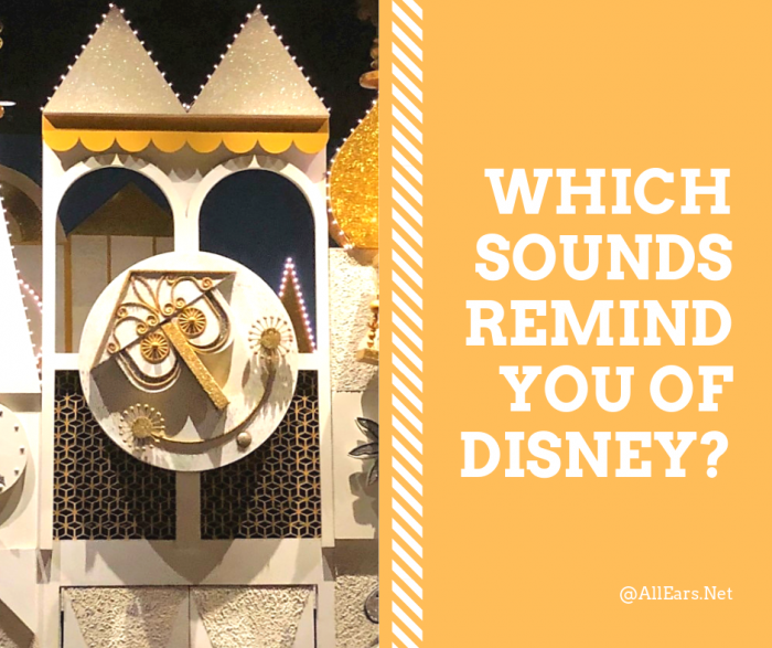 Which Sounds Remind You of Disney?