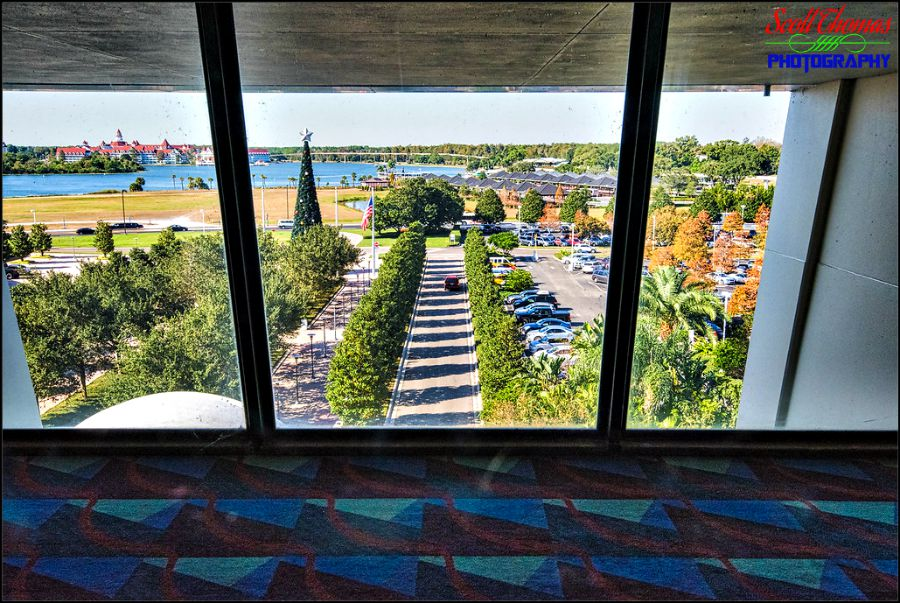 Contemporary Resort's Holiday Promenade