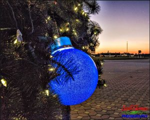 Contemporary Resort's Christmas Tree Ornament
