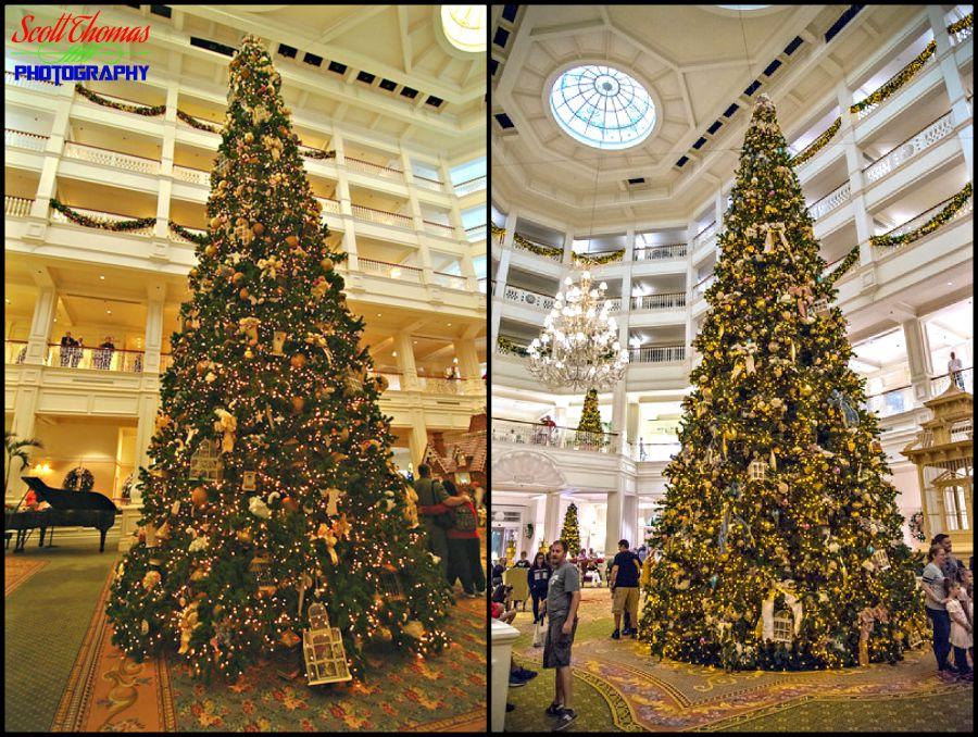 White Balance Grand Floridian Christmas Tree