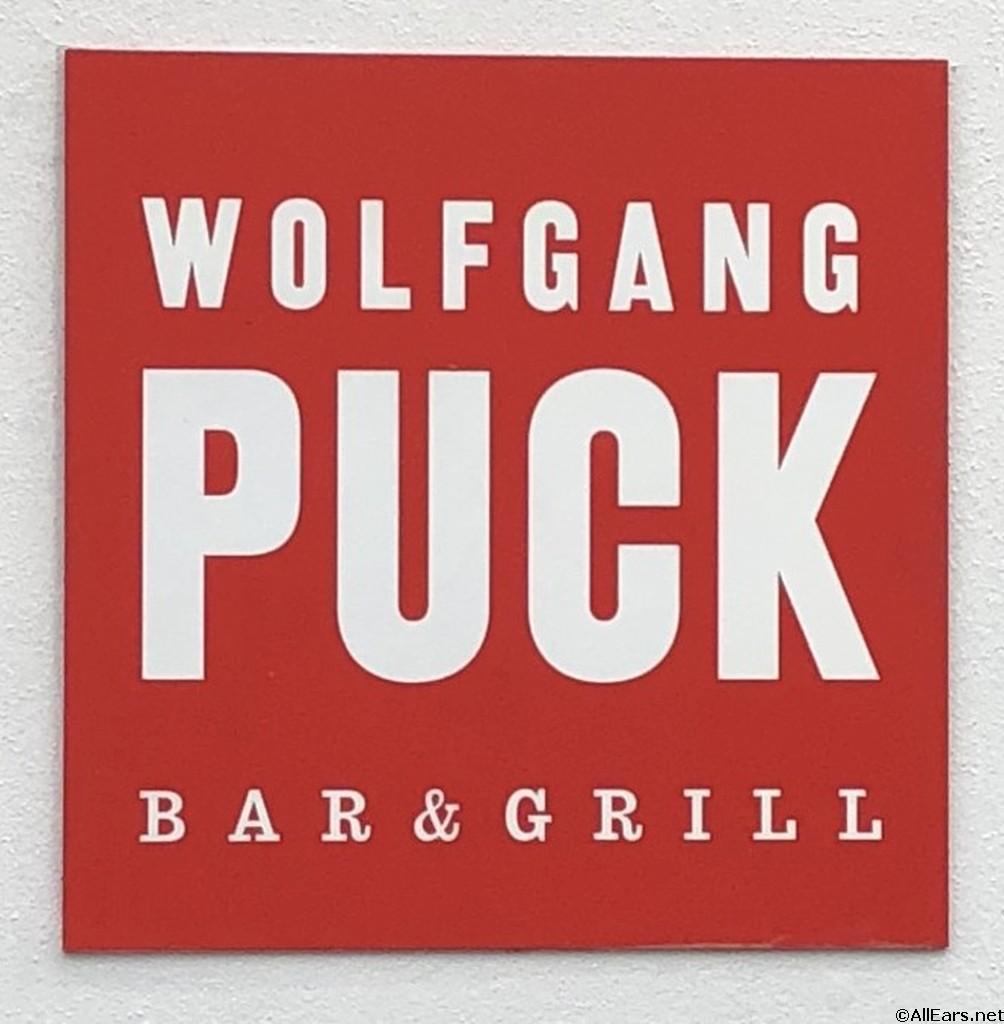 Wolfgang Puck Restaurant Menu