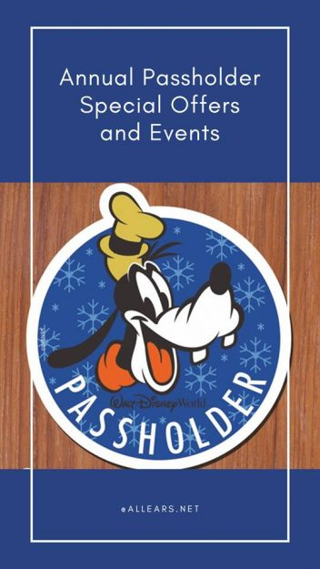 Annual Passholder Special Offers and Events