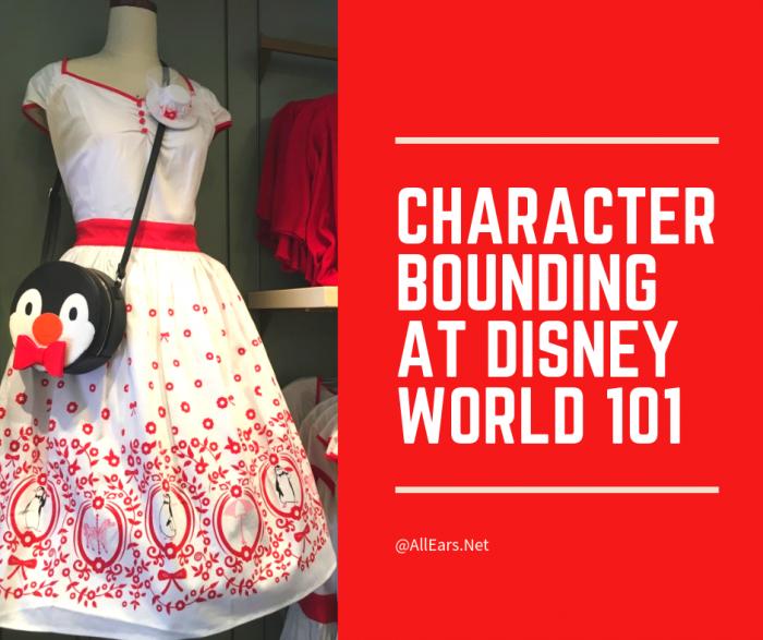 Character Bounding at Disney World 101