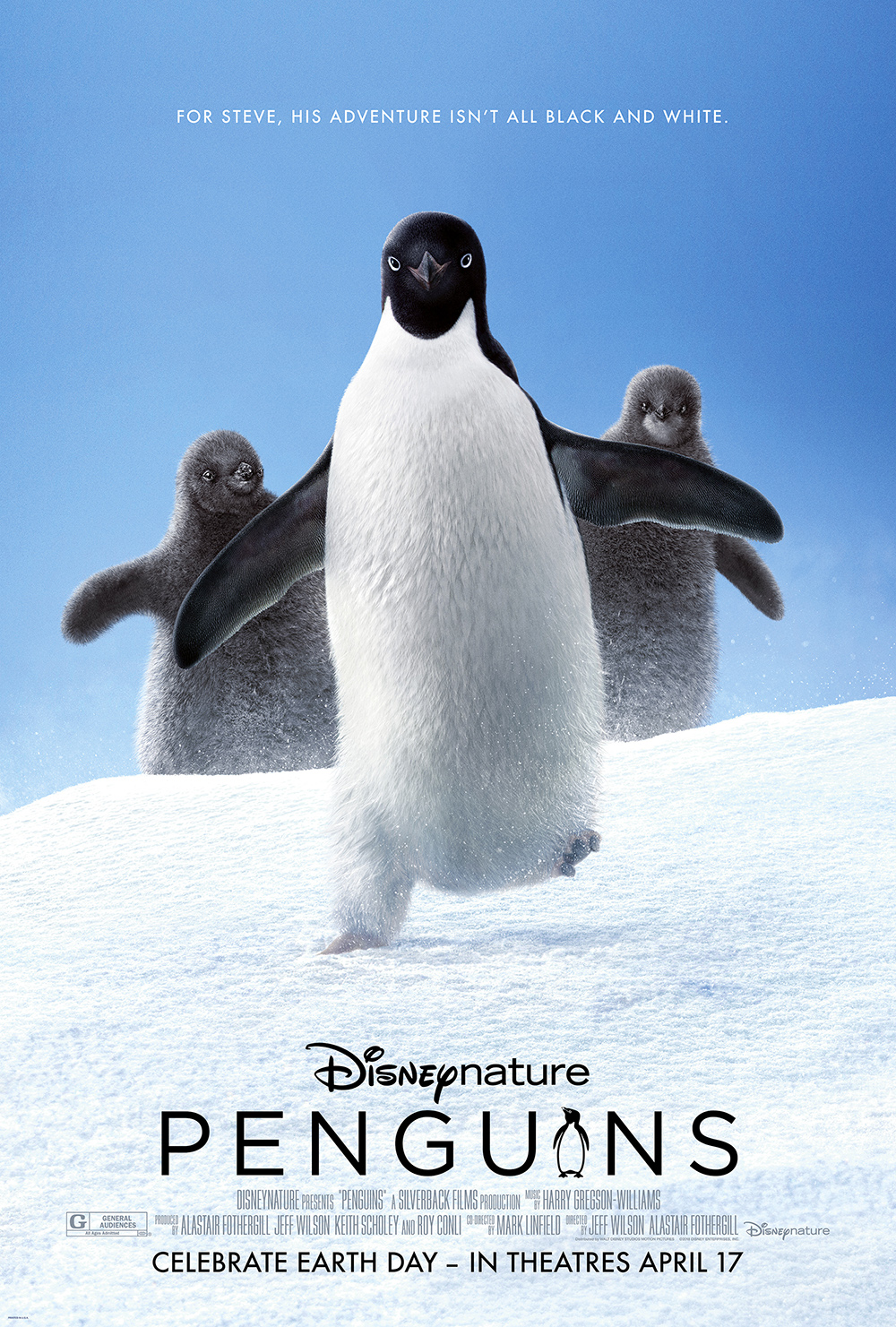 Disneynature Releases First Poster For 2019 Film Penguins