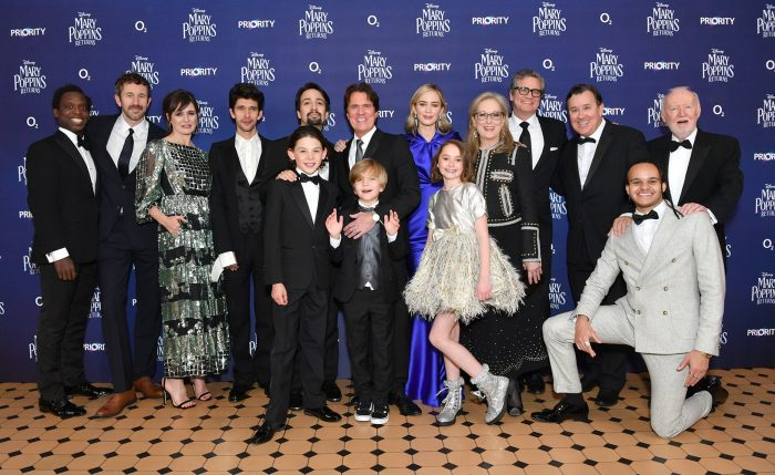Mary Poppins Returns Stars Celebrate Premiere As New Preview Is Released Allears Net