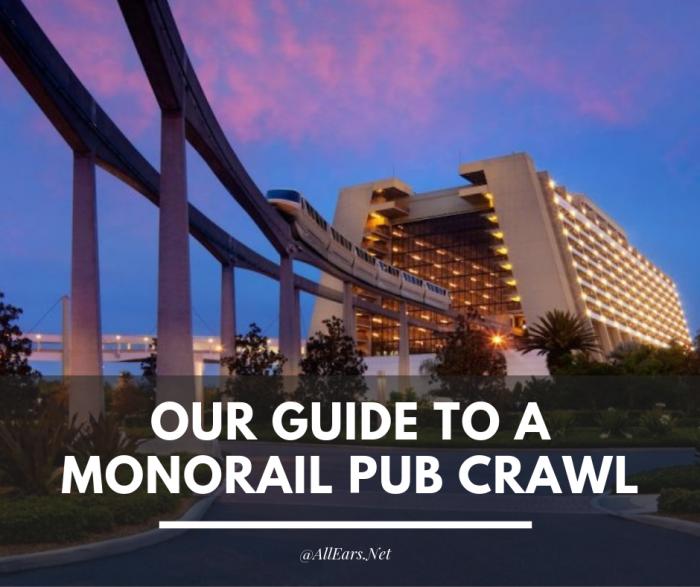 Monorail Pub Crawl at Disney World