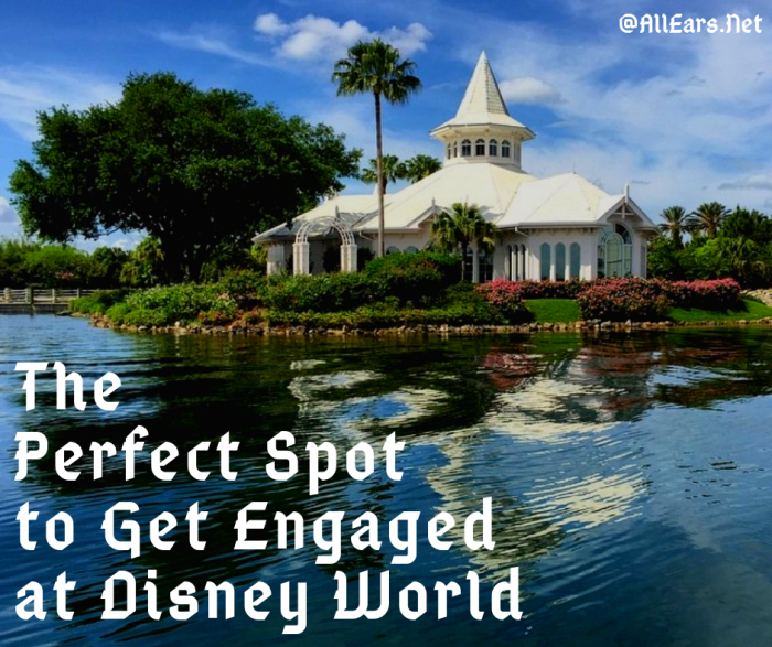 The Perfect Spot to Get Engaged at Disney World