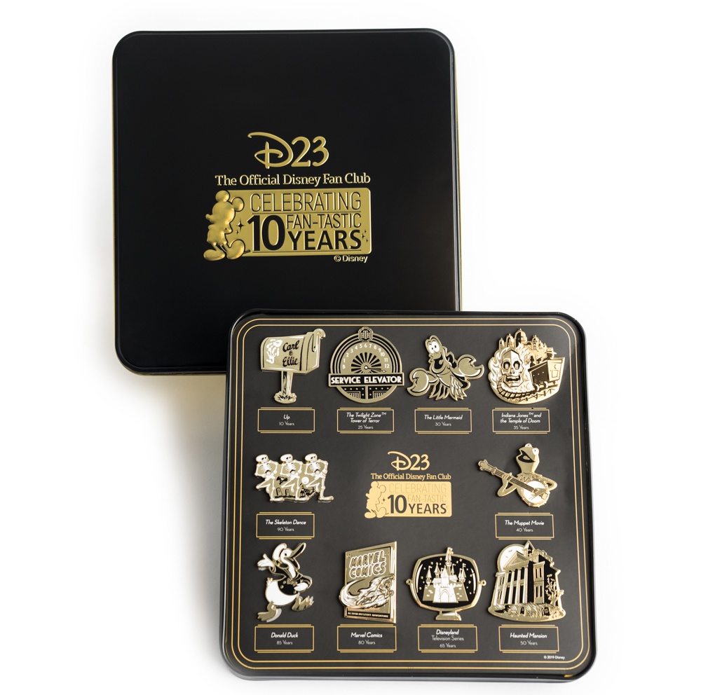 D23 Announces 2019 Gold Membership Gifts - AllEars Net