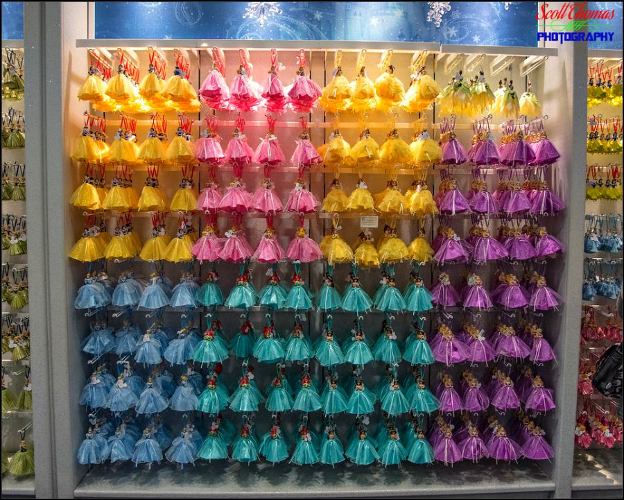 Disney Princess Christmas tree ornaments