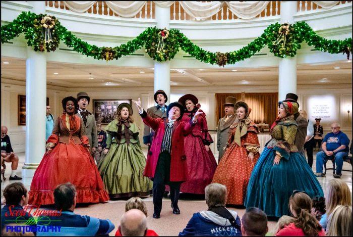 Voices of Liberty Singing Christmas Carols