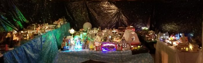 Erin Blackwell Christmas Village overview 2018