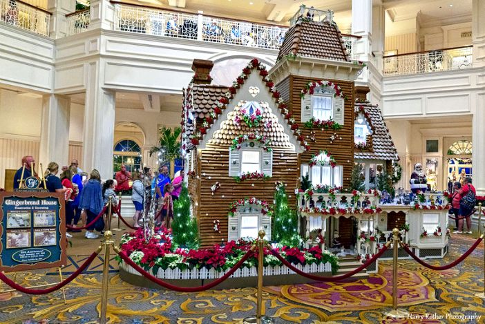 Grand Floridian Gingerbread House by Harry