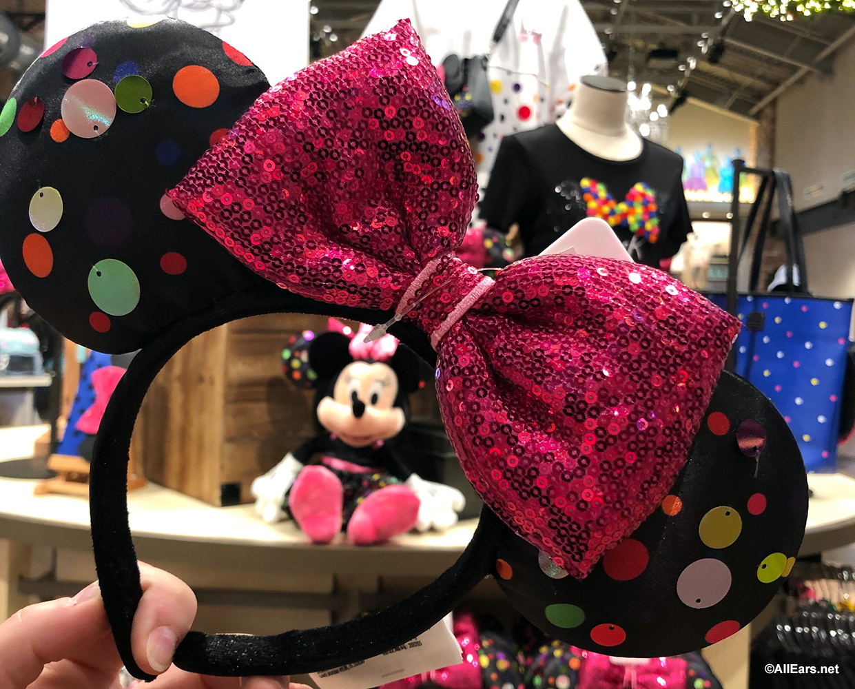 Disney Parks Rock The Dots Minnie Mouse Ears
