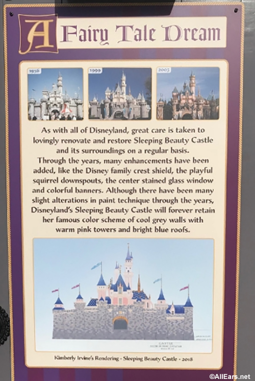 Refurbishment And Repairs Started On Disneyland S Sleeping