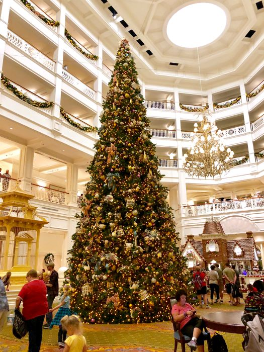 Grand Floridian Resort Christmas Tree by Merrie