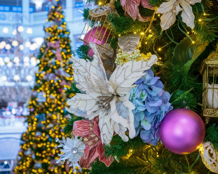 Grand Floridian Christmas Lobby Detail by Michael