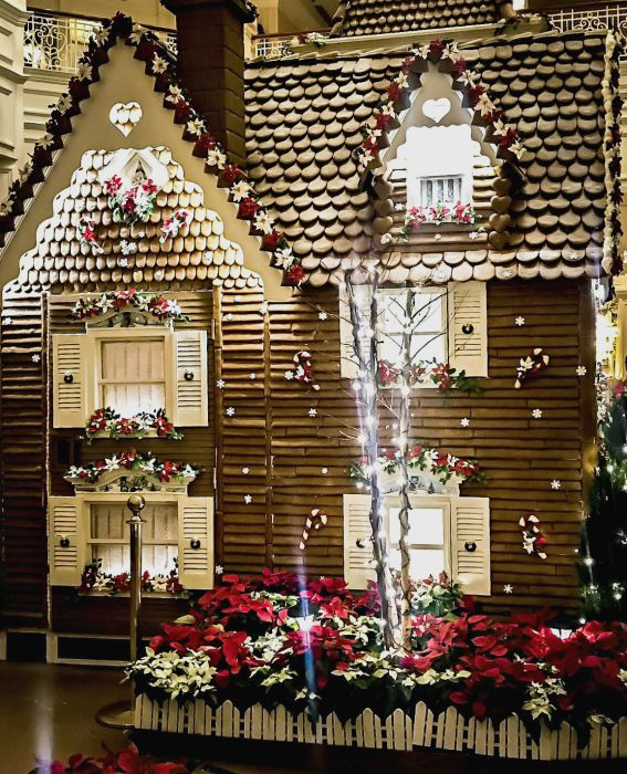 Grand Floridian Gingerbread House by Michelle