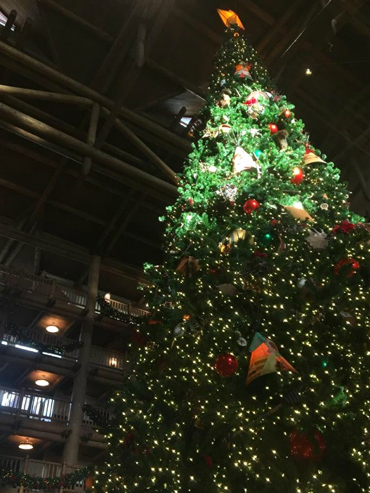 Wilderness Lodge Christmas Tree by Samantha