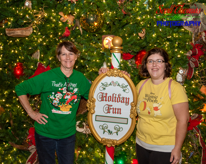 Wilderness Lodge Christmas Tree Photo