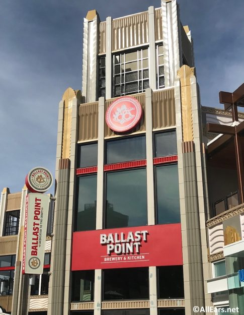 Ballast Point in Disneyland's Downtown Disney Offering NEW Bratwurst for Lager Madness!