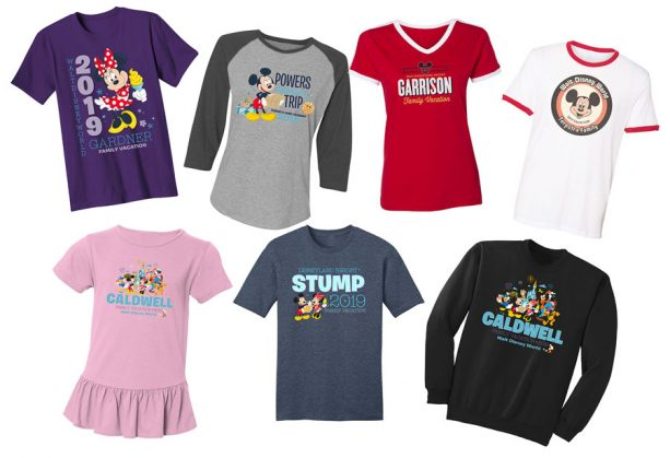 Order Official Personalized Shirts On ShopDisney