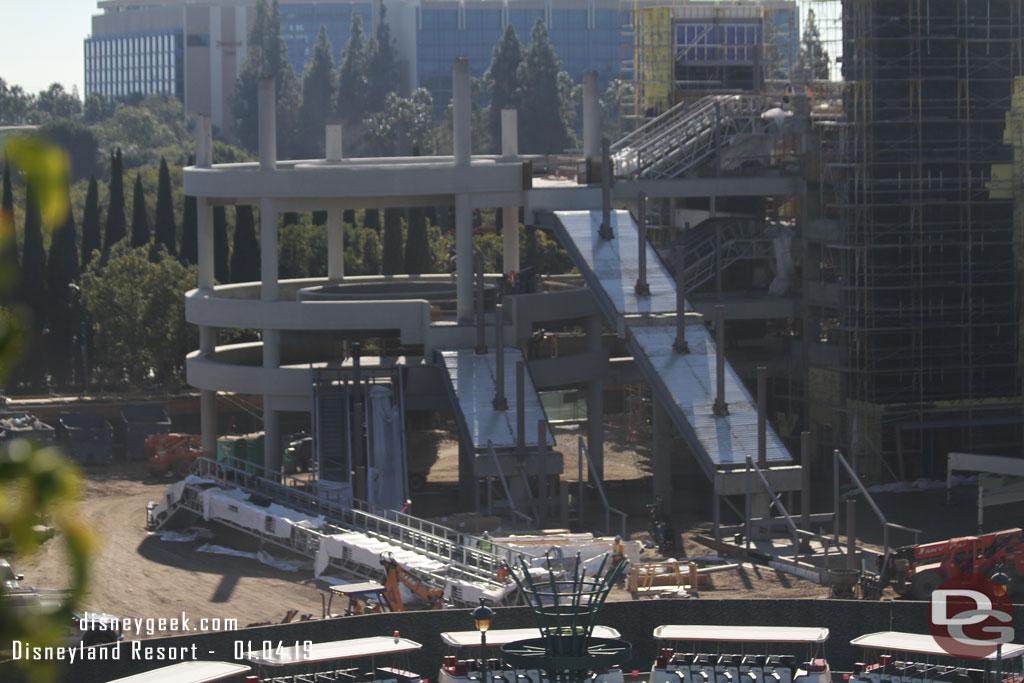 Disneyland Construction Update Star Wars Galaxy S Edge