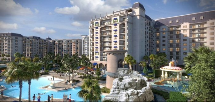 5704c1e35 Riviera Resort Pool Concept Art ©Disney