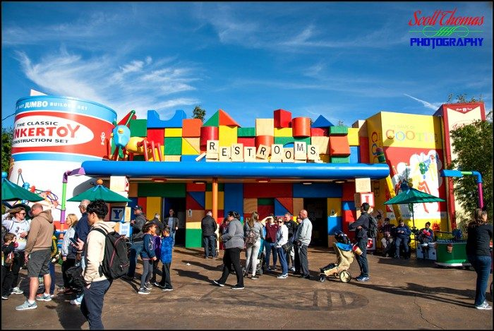 Toy Story Land Restrooms