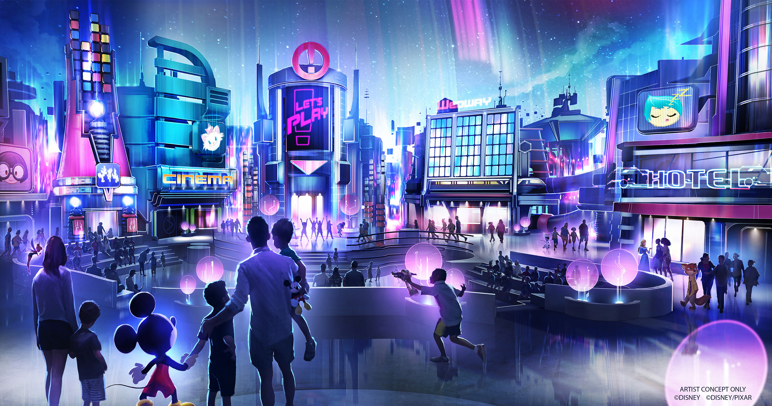 Epcot Announces New Park Entrance, Play Pavilion