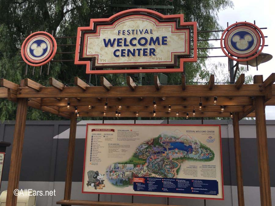 Soft Opening Disney California Adventure Food And Wine Festival