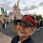 90 year old at magic kingdom