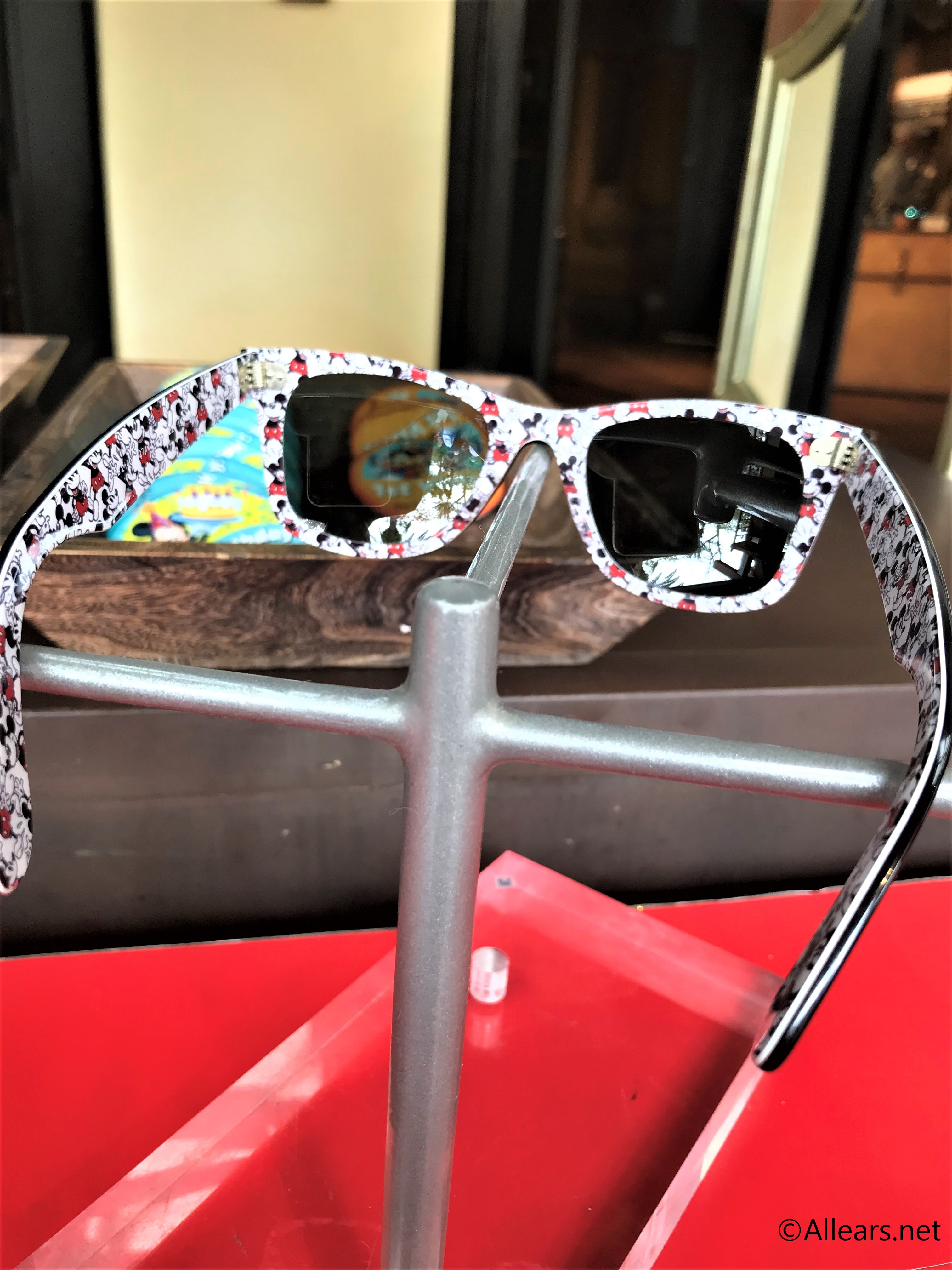 391f3f7f385d7 Ray-ban x Disney Wayfarer. We spotted these adorable Mickey sunglasses ...
