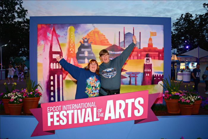 Epcot Festival of the Arts Welcome