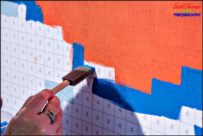 Painting a Number