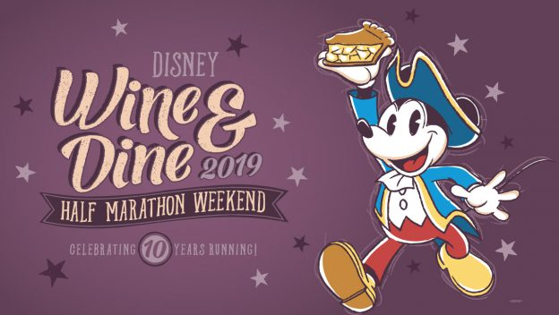 Disney Wine & Dine Half Marathon Weekend 10th Anniversary Medals Announced - AllEars.Net