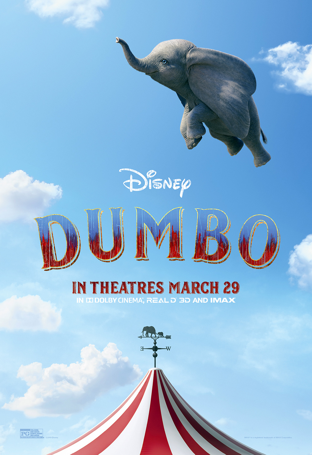 Quot Dumbo Quot Celebrates World Premiere With New Poster And