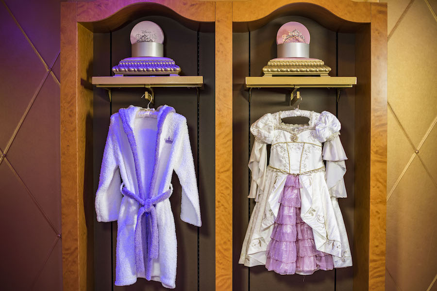 aa41ce9d8aa Disney Cruise Ships Feature New Rapunzel Makeovers! - AllEars.Net