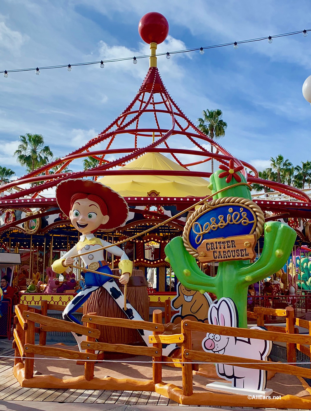 Disney California Adventure S Pixar Pier Unveils Jessie S