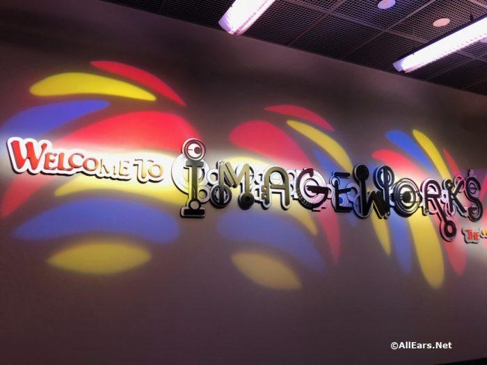 Imageworks in Epcot's Imagination Pavilion
