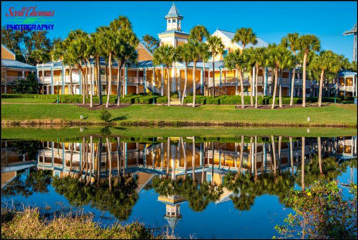 Caribbean Beach Resort Reflections At