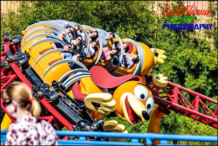 Riding Slinky Dog Dash
