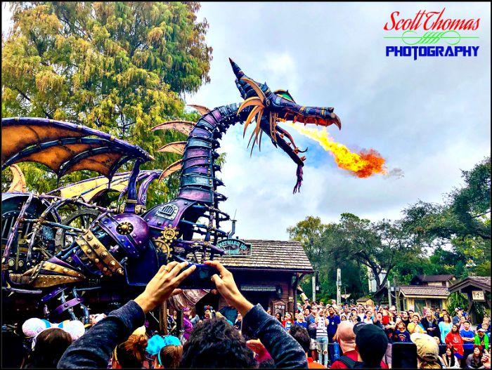 iPhone Maleficent Dragon