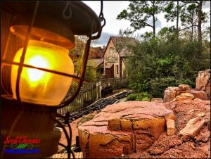 iPhone Frontierland Train Station
